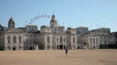 Horse Guards Parade London 6 Stock Footage