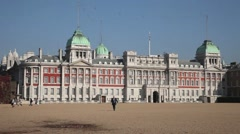 Horse Guards Parade London 3 Stock Footage