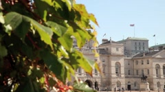 Horse Guards Parade London 8 Stock Footage