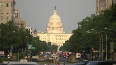 US Capitol Building, Washington DC Stock Footage