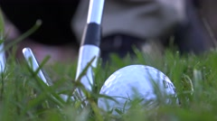 Stock Video Footage of Driving the Ball, Pitching, Hitting, Golf Swing