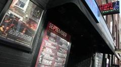Ronnie Scott's Jazz Club London Stock Footage