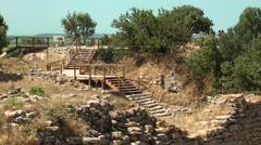 Canakkale Troia Stock Footage