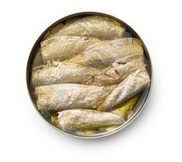 Can of sprats Stock Photos