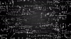 Math equations Stock Footage