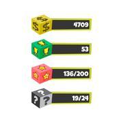 Game assets element Stock Illustration