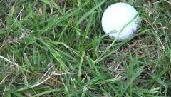 Golf Ball Stock Footage