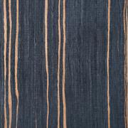striped ebony wood texture, tree background - stock photo