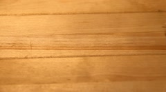 Old wood texture, vintage natural background Stock Footage