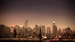 NYC View from the Bronx - stock footage