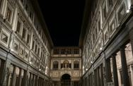Stock Photo of Uffizi gallery in Florence