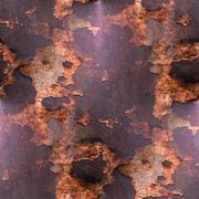 Stock Photo of old texture iron red background  with rust and scuffed