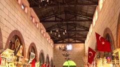 Canakkale Aynali Bazaar Stock Footage