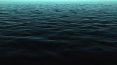 4k deep ocean waves water motion background Stock Footage
