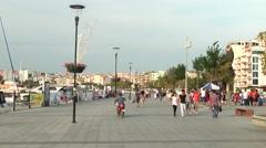 Canakkale City in Turkey Stock Footage