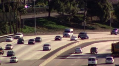Stock Video Footage of Cars on a busy highway or freeway