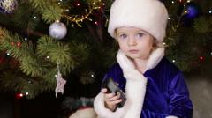 Stock Video Footage of Snow Maiden