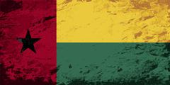 Austrian flag. Grunge background. Vector illustration - stock illustration