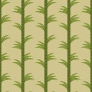 Seamless background with bamboo forest Stock Illustration