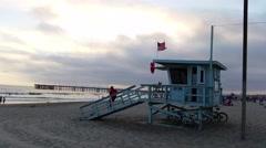 Venice Beach - Venice California 20140704 194250-- ProRes 422-- UHD Stock Footage