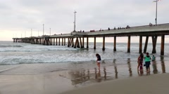 Venice Beach - Venice California 20140704 195445-- ProRes 422-- UHD Stock Footage