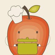 Stock Illustration of kids nutrition design, vector illustration eps10 graphic
