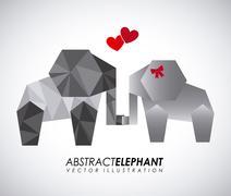 animal abstract design, vector illustration eps10 graphic - stock illustration