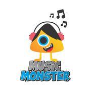 monster character - stock illustration