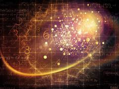 Particle Design Stock Illustration
