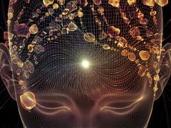 Mind Oscillation Stock Illustration