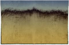 Grunge blue and sepia abstract background Stock Illustration