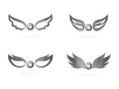 Stock Illustration of wing art