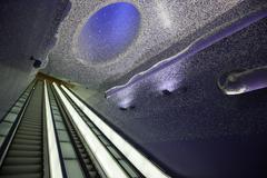 metro Montecalvario, Naples - stock photo