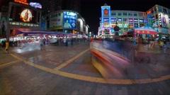 Timelapse 4K Guangzhou Stock Footage