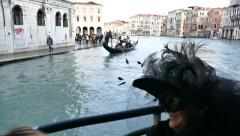 Italy, Venice, Grand Canal. Morning Stock Footage