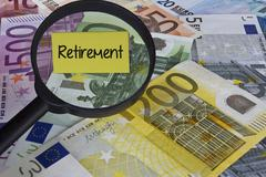 Retirement concept - stock photo