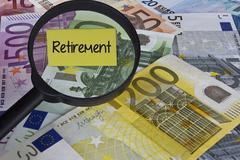 Retirement concept Kuvituskuvat