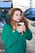 Coffee to Go Stock Photos