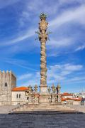 The Pillory placed in the Cathedral Square aka Terreiro da Se Stock Photos