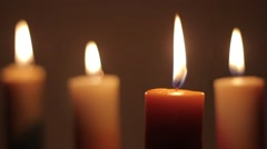 Romantic Candle 1 Stock Footage
