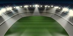 Stock Illustration of Generic Stadium Night