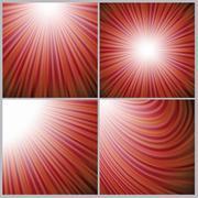 red blurred background - stock illustration