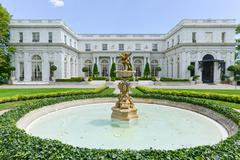 Rosecliff Mansion - Newport, Rhode Island - stock photo