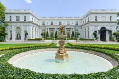 Rosecliff Mansion - Newport, Rhode Island Stock Photos