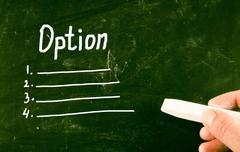Option concept Stock Photos