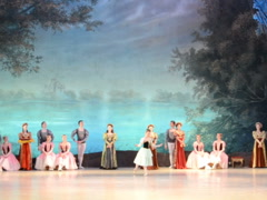 Beautiful ballet. Related clips are in my portfolio in 1920x1080. Stock Footage