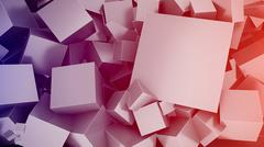 Cubes Background Stock Illustration