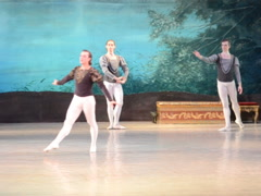 Balerona dance the ballet. Related clips are in my portfolio in 1920x1080. Stock Footage