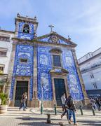 Santa Catarina Chapel, aka Almas Chapel Stock Photos