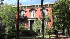 Mercer Williams House Museum, Savannah, GA, USA Stock Footage